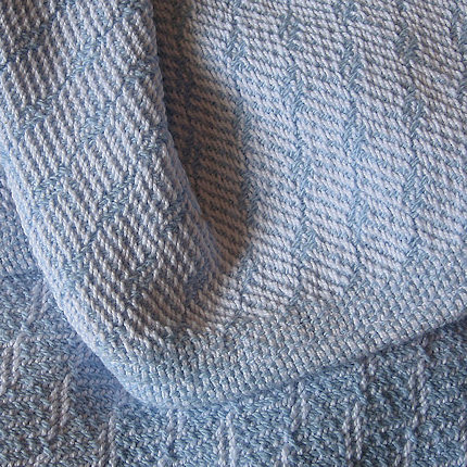 Light Blue Baby Blanket
