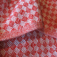 Red Crib Blanket